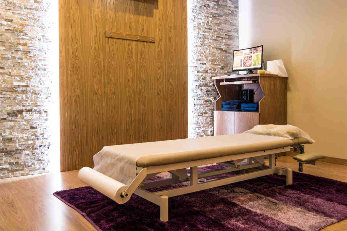 Sala tratamento - Clínica de Osteopatia Dr. Daniel Gonçalves